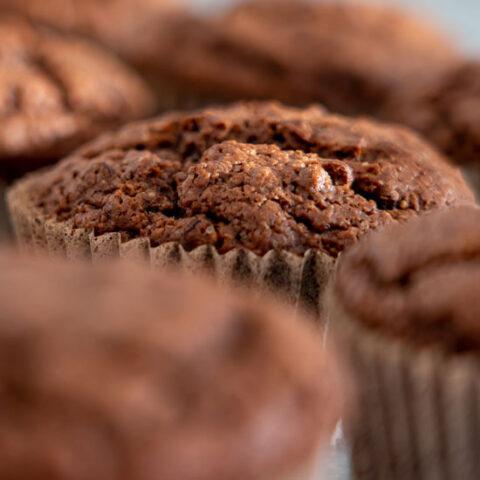 Low Sodium Apple Bran Muffins
