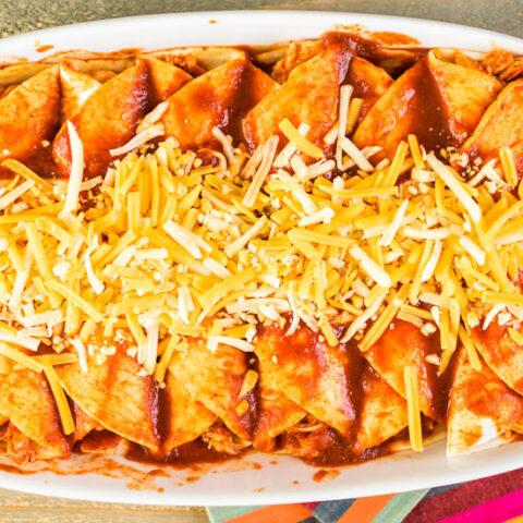 Low Sodium Enchiladas