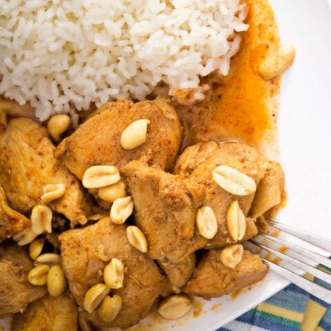 Low Sodium Thai Peanut Chicken